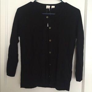 Black Gap cardigan